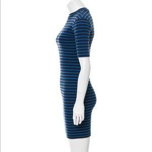 5172c6e2b4 T by Alexander Wang Dresses - T by Alexander Wang Body Con Striped Mini  Dress